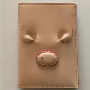 """Kate Spade """"year of the pig"""" Passport Wallet"""